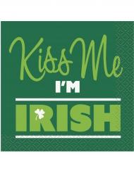 16 små servietter Kiss Me I