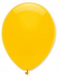 Gul ballon 6 stk