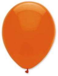 Mørkeorange balloner
