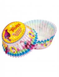 50 Cupcake forme med Trolls™ 5 cm