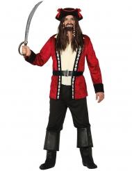Dødelig piratkostume til mænd