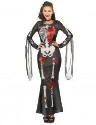 Dia de los Muertos kjole til kvinder - Halloween