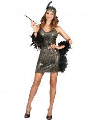 Charleston kostume med glimmer til kvinder