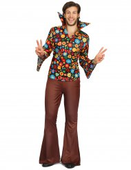 Hippiekostume blomstret til mænd