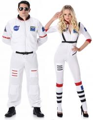 Parkostume astronaut til voksne