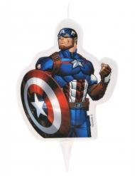 Fødselsdagslys Avengers™ Captain America™ 6x7.3cm