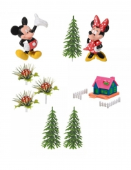 Dekorationsæt 9 dele Mickey & Minnie™ 10 x 26 x 6 cm