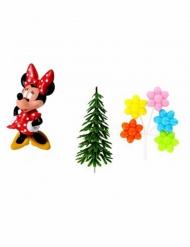 Sæt med 4 dekorationer Minnie™