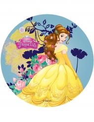 Spiselig kagedekoration Disney Princesses™ skønheden 14,5 cm