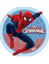 Blå og rød kagedekoration - Ultimate Spiderman™
