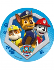 Paw Patrol™ kagedekoration med Chase, Rubble og Marshall - 21 cm