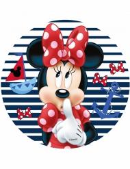 Spiselig kagedekoration disk Minnie™ 21 cm