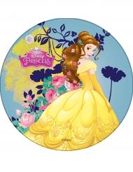 Spiselig kagedekoration Princesses Disney™ Skønheden 21 cm