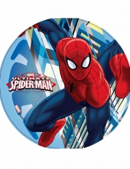 Kagedekoration med Spiderman I fuld action - Ultimate Spiderman™ 21 cm