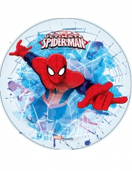 Kagedekoration med Spiderman - Ultimate Spiderman™ 21 cm
