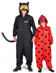 Parkostume Ladybug og Cat Noir Miraculouc™ far og datter