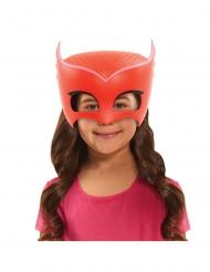 Rød Ugline maske til børn - Pyjamasheltene™