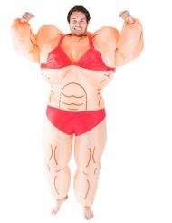 Kostume muskuløs kvinde oppustelig til voksne