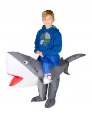 Kostume oppustelig haj til børn