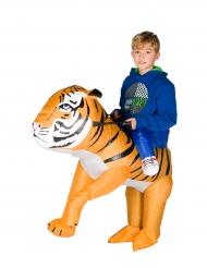 Kostume oppustelig tiger til børn