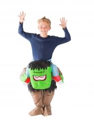 Oppusteligt monsterkostume til børn