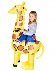 Kostume oppustelig giraf