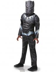 Kostume Black Panther™ Luksus til børn