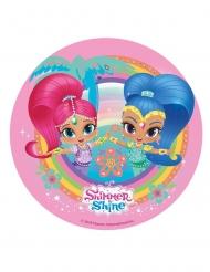 Kagedekoration Shimmer & Shine™ lyserød 20