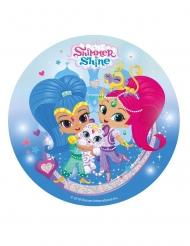 Sukkerdekoration Shimmer & Shine 20 cm