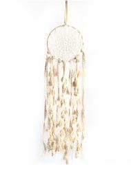 Drømmefanger med blonder og pompommer 15 x 50 cm