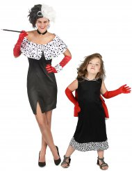 Parkostume Cruella mor og datter