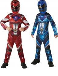 2 Power Rangers™ kostumer rød og blå