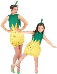 Par kostume frugt ananas til mor og datter