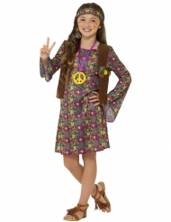 Peace hippiekostume til piger