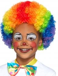 Multifarvet klovneparyk til børn