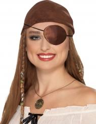 Pirat øjeklap til voksne