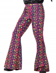 Flower Power hippiebukser til mænd