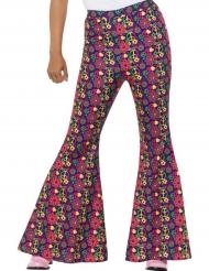 Flower Power hippiebukser til kvinder