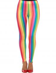 Leggings i regnbuensfarver
