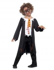 Zombie skoleelev kostume til børn