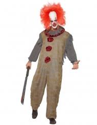 Vintage klovn kostume mand