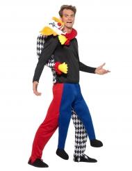 Halloween klovnekostume til voksne