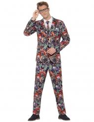 Mr. Ond klovn - Halloween jakkesæt til voksne