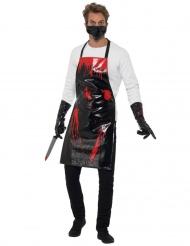 Blodig slagter kit til voksne
