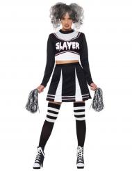 Gotisk cheerleader kostume til kvinder