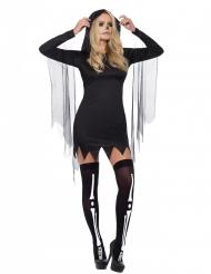 Sort døden kostume til kvinder