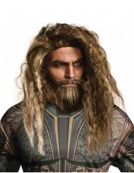 Paryk og skæg Aquaman™ til voksne