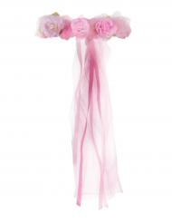 Prinsessekrone til piger i lyserød