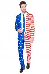Kostume Mr. USA Flag mand Suitmeister™