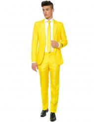 Mr. Solid gul jakkesæt til voksne - Suitmeister™